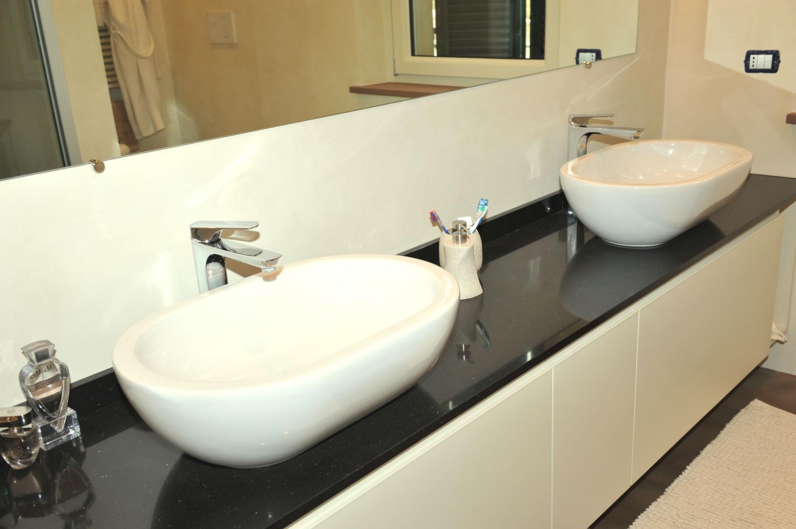 Bagno padronale bagno turco in microcemento emsign studio di enrico marchiaro interior designer - Realizzazione bagno turco ...