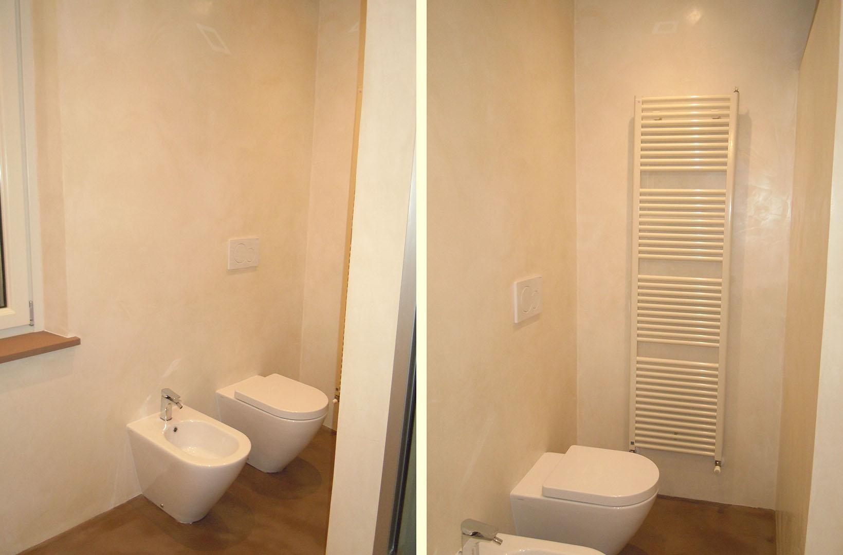 Bagno padronale bagno turco in microcemento emsign - Microcemento bagno ...