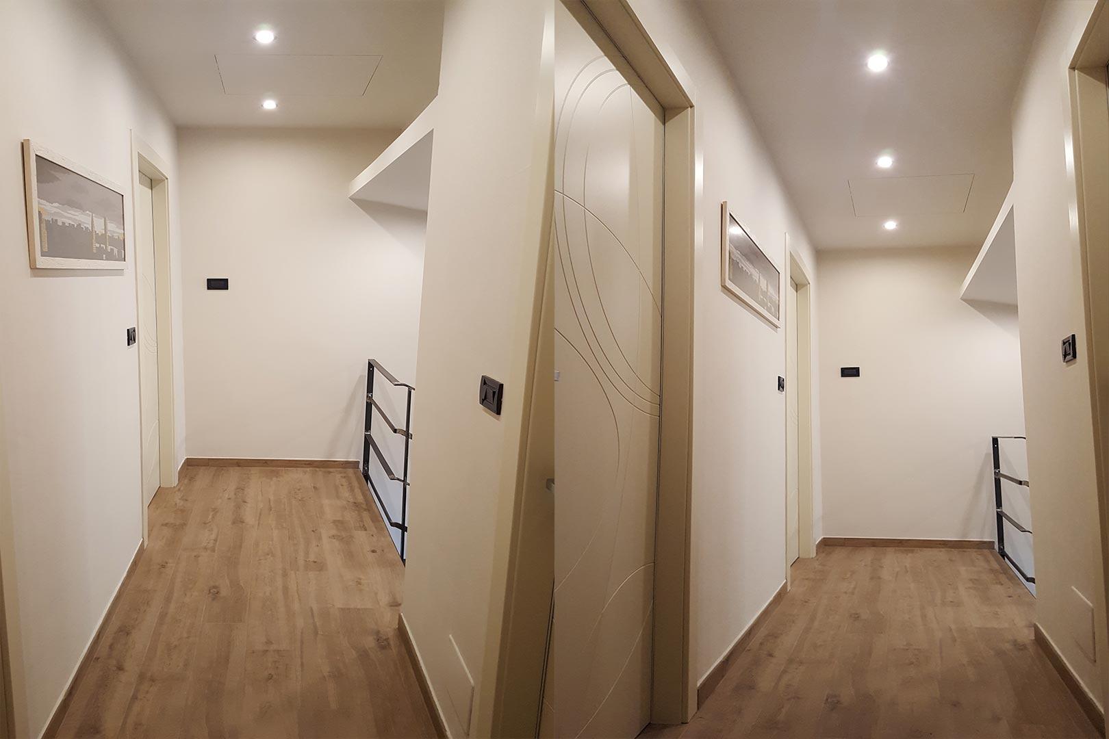 Ristrutturazione interna abitazione stile country minimal cn emsign studio di enrico - Ristrutturazione interna casa ...